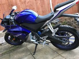 4 month old yzfr125 insurance category N write of