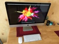 Apple iMac 27 inch quad core 2011 16GB 1TB