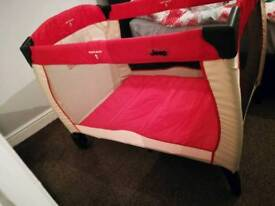 JEEP travel cot bed