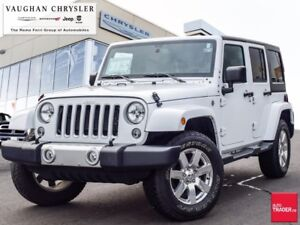 2018 Jeep Wrangler Sahara Unlimited * Only 21321 kms !! * Automa