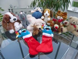 Cuddly Toys - Job lot of 11 £14