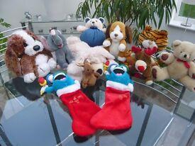Cuddly Toys - Job lot of 11 £14