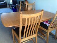 Eurcol dining table & dresser