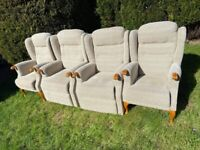 4 Armchairs for sale virtually new. In perfect condition.