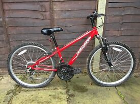 Boys mountain bike good as new, barely used