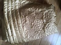 Beautiful King Size Gold Bedspread from Next