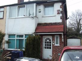 Breightmet, Bolton - Studio flat self contained with no bills to pay & WiFi. Own garden