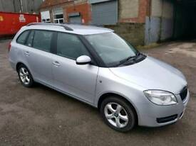 2008 SKODA FABIA 1.4 TDI PD 5 DOOR HATCHBACK ESTATE SILVER 12 MONTHS M.O.T