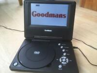 Goodmans Portable DVD Player