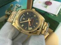 New Swiss Men's Rolex Day Date Perpetual Automatic Watch