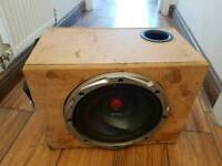 Kenwood subwoofer with 350 W amplifier