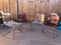 4 Ikea Tobias dining chairs - price reduced