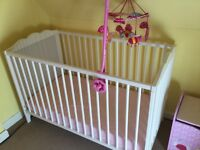 IKEA hensvik cot good condition smoke and pet free home