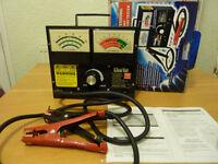 Clarke professional 500 amp battery tester for cars, vans etc