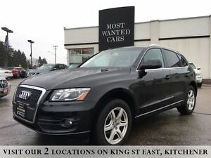2012 Audi Q5 2.0L Premium | NAPPA LEATHER | AWD | SENSORS