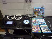 Nintendo Wii U 32GB Black Console Mario Kart, Mario 3d, New super mario & more