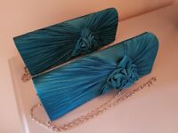 Clutch Bags and hair accessories