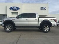 2011 Ford F-150 Lifted FX4 Luxury with 33 Tires, Flares, Fully L