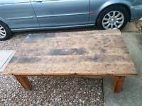 5ft wooden rustic look table