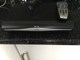 Sky box hd with lead and remote