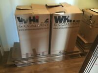 10 Tall packing boxes 760mm x 460mm x460mm with wrapping paper