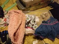 Assorted baby clothes - 3 - 6 months, large variety in 2 boxes