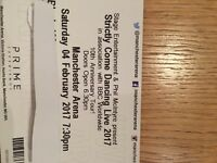 Strictly come dancing tickets Manchester 4th february