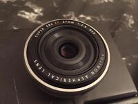 Fujifilm XF27 lens (Fujinon XF27mm)