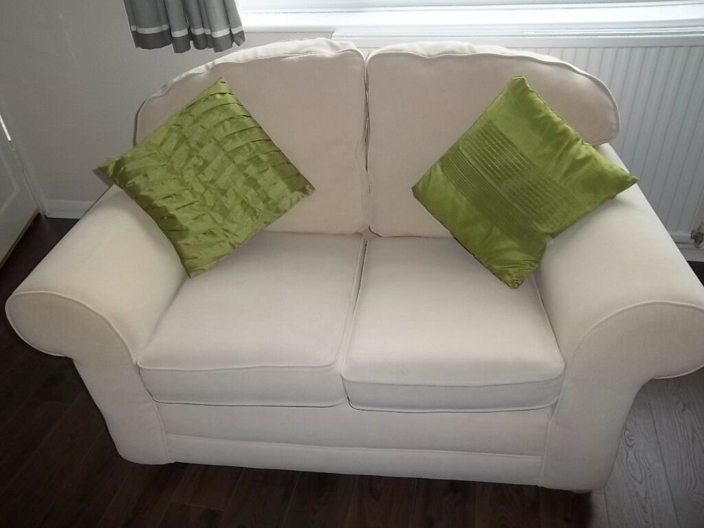 Off White Cream 3 2 Seater Sofa Settees Washable Removable