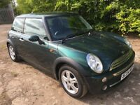MINI COOPER 1.6 ** 54 PLATE ** 50,000 MILES ** ONE OWNER FROM NEW **