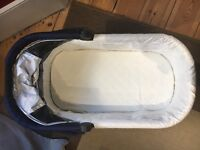 Uppababy Vista Pushchair and Carrycot - Taylor Blue