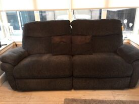 Lay Z Boy 3 seater recliner sofa
