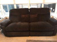 Lay Z Boy 3 seater recliner sofa