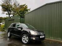 2009 NISSAN QASHQAI +2 DCI ACENTA 7 SEATER FINANCE & WARRANTY AVAILALBE