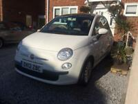 Fiat 500 lounge 0.9 twin air, only 18000, 2012, FREE tax
