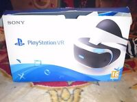 Ps4 Vr head set and games