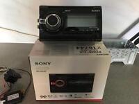 Sony wx900bt double din head unit
