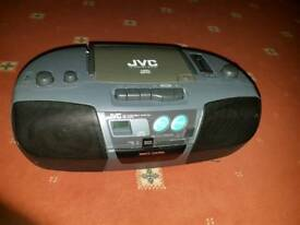 JVC Cd portable sytem