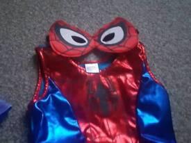 Spider girl dressing up costume
