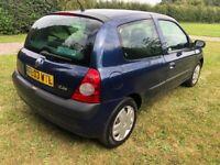 Renault, CLIO, Hatchback, 2003, Manual, 1149 (cc), 3 doors
