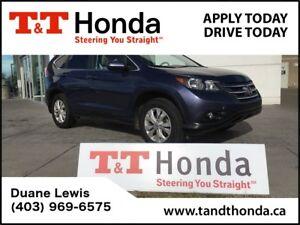 2012 Honda CR-V EX *Local SUV, LOW KM'S, Ext Warranty*