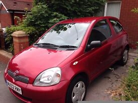 Toyota Yaris 1l in great condition 12 Months MOT