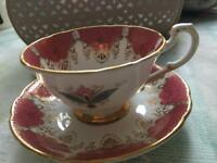 Paragon gold gilt cup and saucer