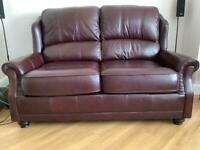 Wade leather 2 &3 seater