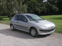 2001 PEUGEOT 206 1.1, MOT MARCH 2017, ONLY £325