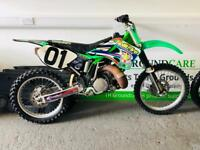 Kawasaki KX 250 upcoming classic 2 stroke old school perfect runner