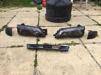 Nissan 200sx S14 Silvia head lights, grill and front indicators lenses