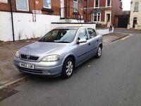 Bargain Vauxhall Astra 1.7 Diesel. NEW MOT, NEW BATTERY