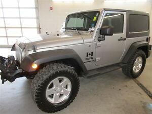 2013 Jeep Wrangler Sport! 4x4! ALLOY! ONLY 50K!