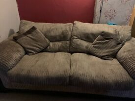 2 seater Fabric couch